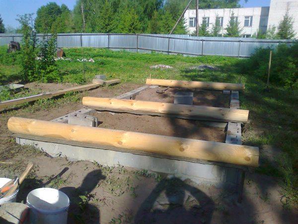 Основание бани